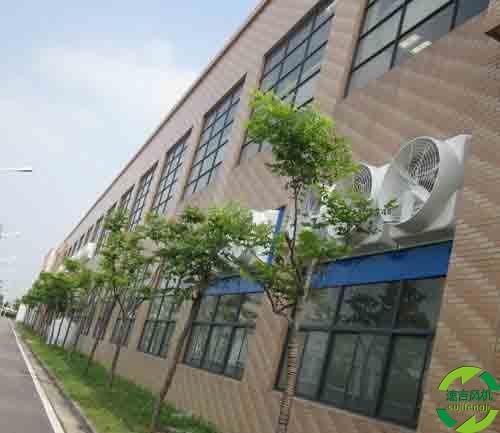 屋顶风机负压风机工业排风扇产业园落户苏州