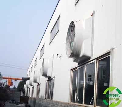 济南排烟风机选型_章丘大风量工业风机_青岛冷风
