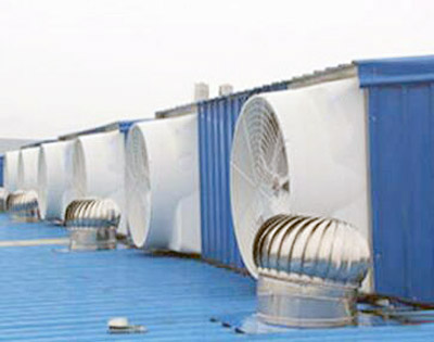 张家港负压风机,水帘风机,排风扇区别差异