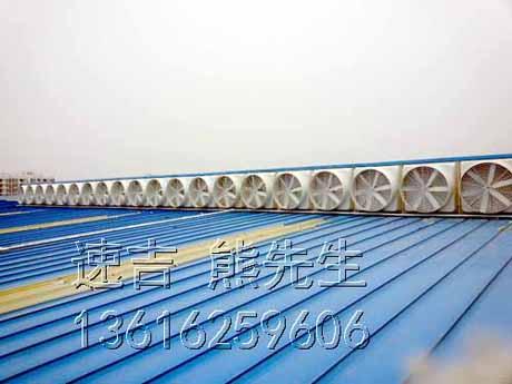 屋顶抽风机,屋顶排风机,房顶排风扇,安装在屋面