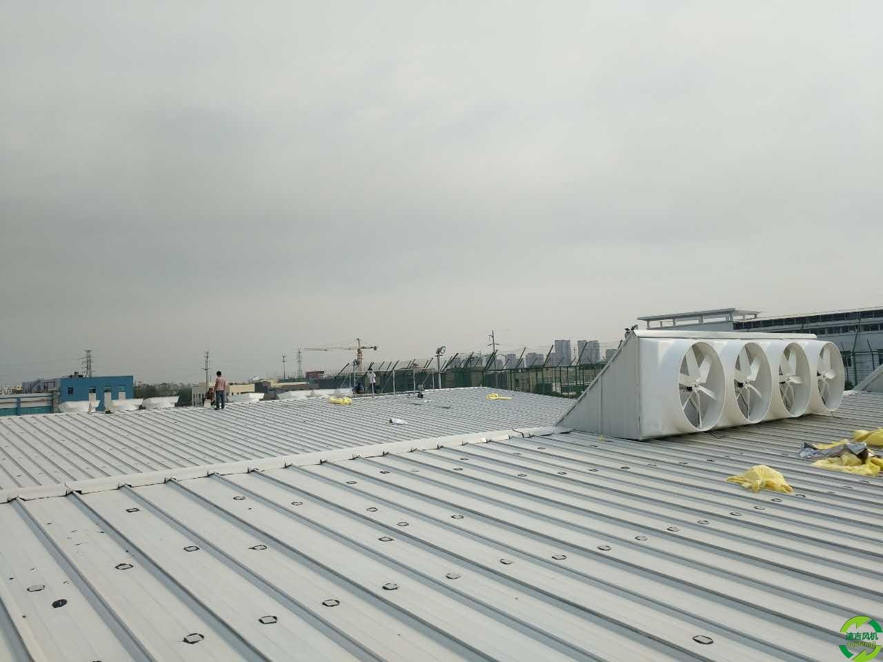 胶州降温水帘代理,工业风机,通风设备