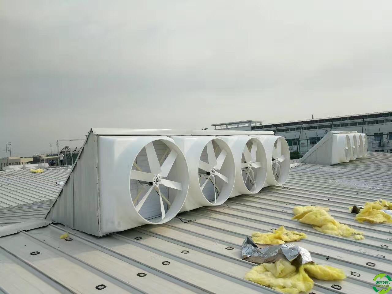 浙江批发基地落户温州提供1460台工业负压风机排