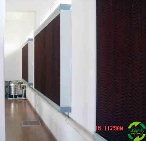 水帘风机和湿帘水帘墙质量鉴定2个小技巧