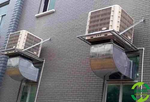 水空调_水帘风机_冷风机_湿帘负压风机_环保空调